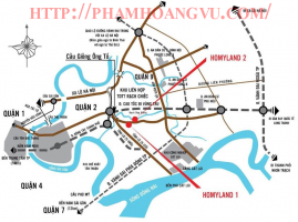 Bán căn hộ chung cư HOMELAND 2 - Nguyễn Duy Trinh - Quận 2 - TPHCM